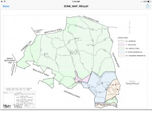 West Pike Run Zoning Map 2015